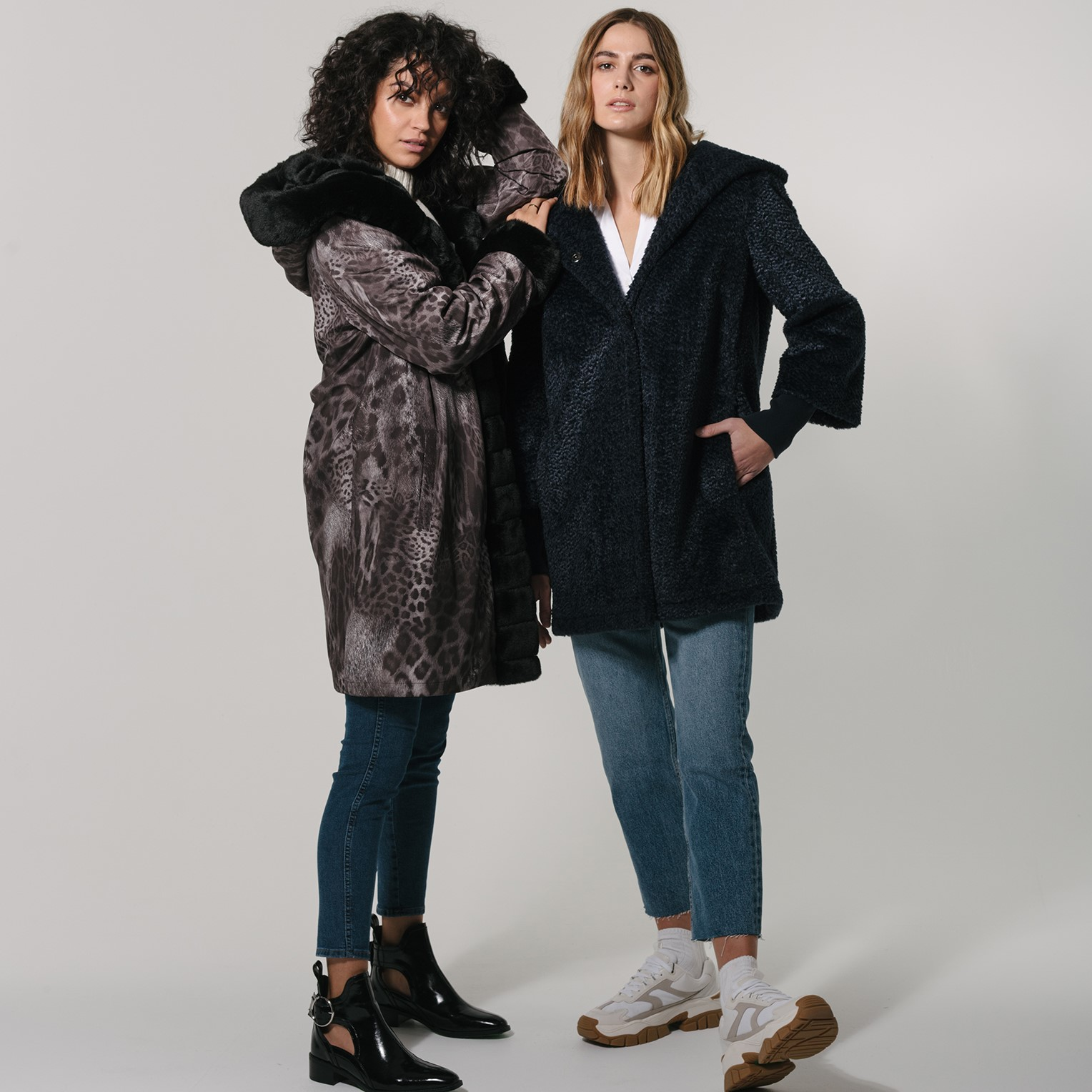Unique selection of trendy women's apparel and accessories featuring American, European and Canadian designers.