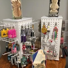 Specializes in whimsical high quality, beautifully hand-crafted gifts and novelties that are cherished for a lifetime.