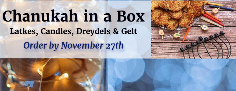Chanukah in a Box