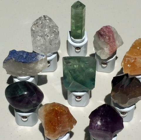 Unique home accessories hand-crafted from natural crystals, gemstones and geodes.