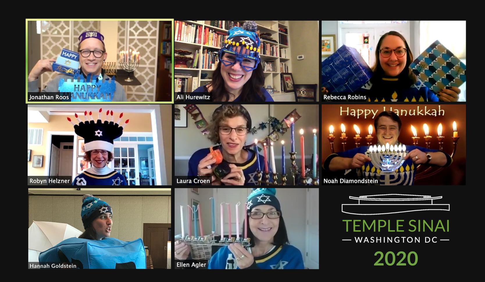 Temple Sinai's Ritual and Director Staff